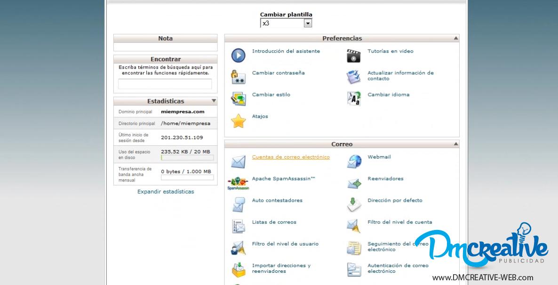 Como crear correos corporativos y configurar con el Outlook