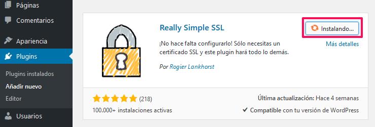 Instalar SSl Simple